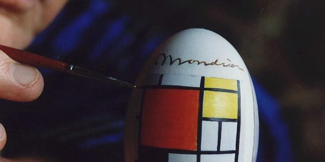 Vroege Mondriaan ontdekt bij tv-opname
