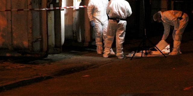 Dode man op straat in Eindhoven