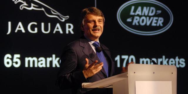 Verkoop Jaguars en Land Rovers omlaag