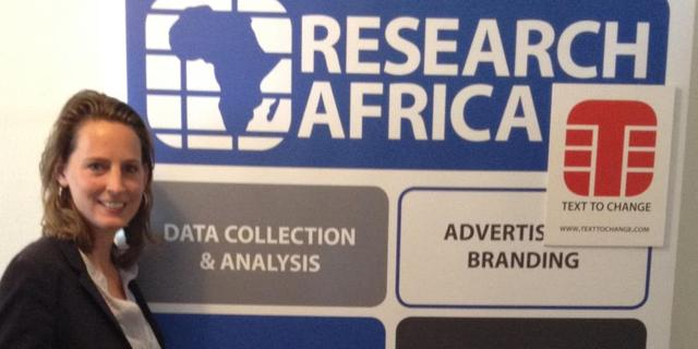 Research Africa, Text to Change, Professional Passionates