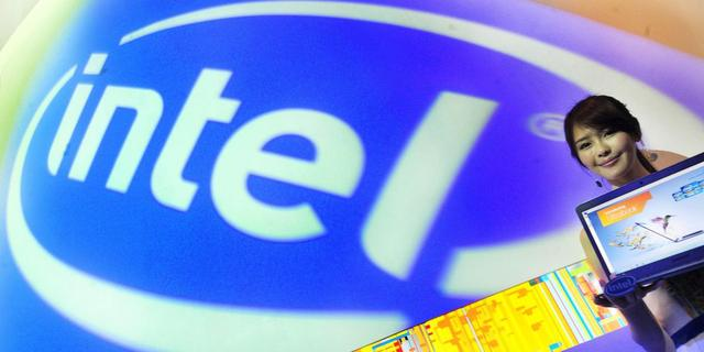 Omzet Intel beantwoordt aan eigen verwachting