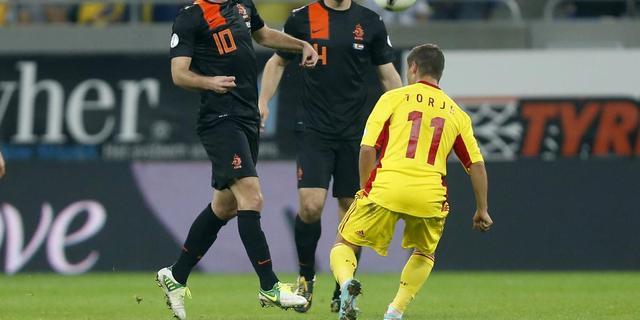 'Lastig voetballen in heksenketel'
