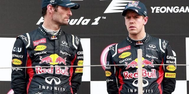 Geen teamorders bij Red Bull