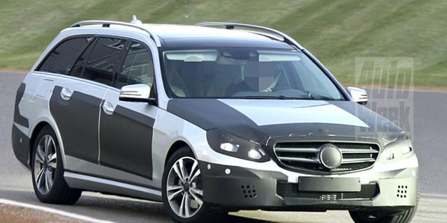 Mercedes E-klasse krijgt ronder gezicht