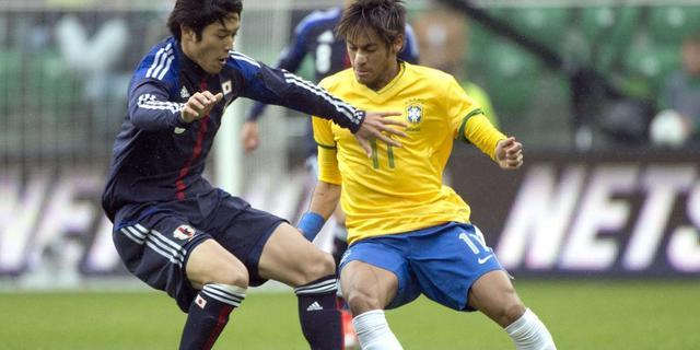 Brazilië veel te sterk voor Japan in oefenduel