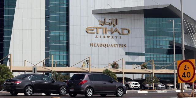 Luchtvaartmaatschappij Etihad Airways lijdt verlies door afschrijvingen