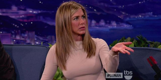 Jennifer Aniston in tranen bij talkshow