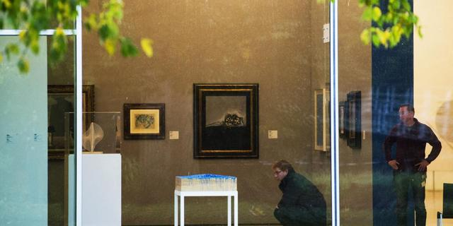 Zeven schilderijen geroofd uit Kunsthal