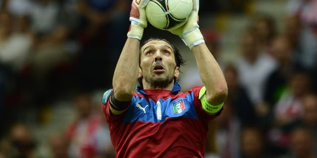Italië zonder Buffon tegen Denemarken