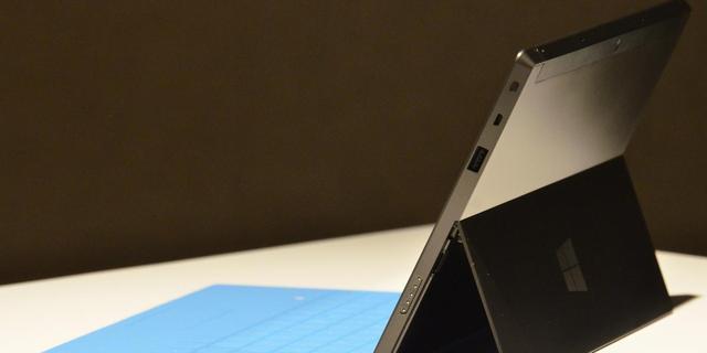 Surface-tablet niet direct naar Nederland