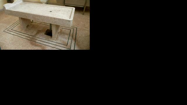 Koelcel uit mortuarium te koop aangeboden