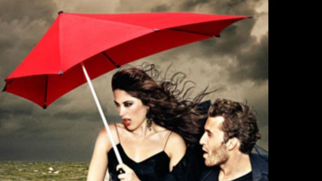 Ondernemer ziet 'stormparaplu' in woordenboek belanden