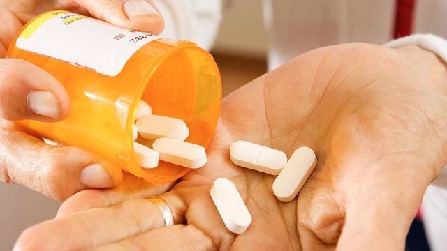 'Belgische farmaceut Omega Pharma in etalage'