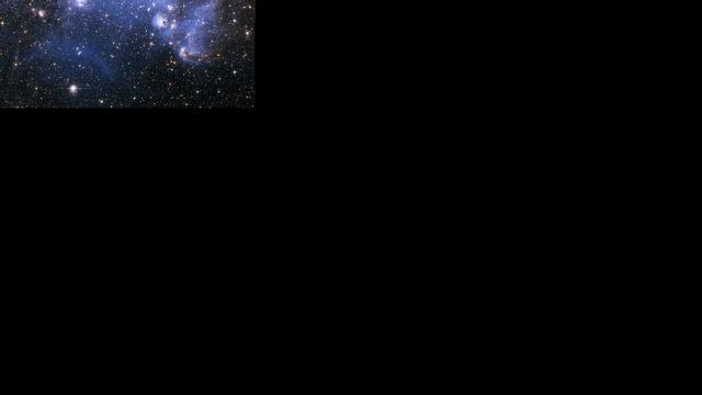 Zwart gat blaast gigantische bel