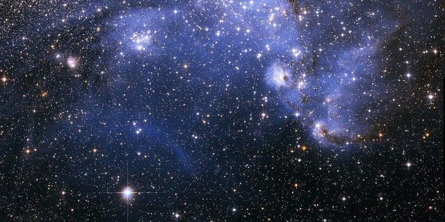 'Donkere kern' van cluster Abell 520 is toch niet zo donker