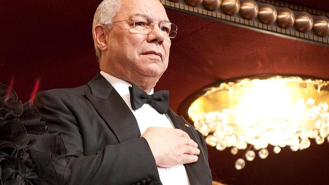 Colin Powell weer achter Obama