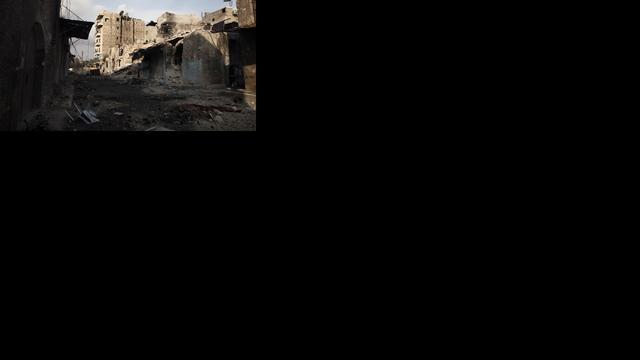 Gewelddadig begin van de dag in Syrië