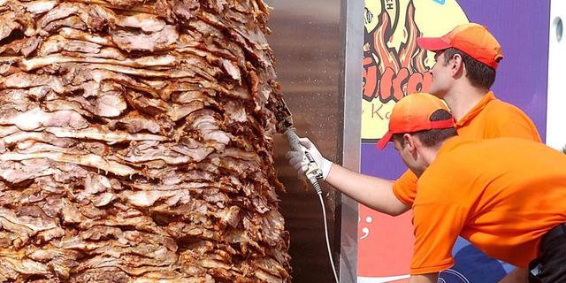 'Helft broodjes kebab vol bacteriën'