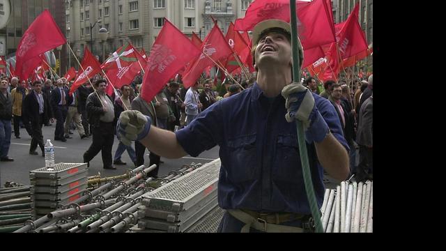 Kwart Spanjaarden werkloos