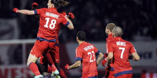 Ibrahimovic wederom beslissend voor PSG