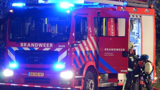 Evacuatie om brand Bergen op Zoom