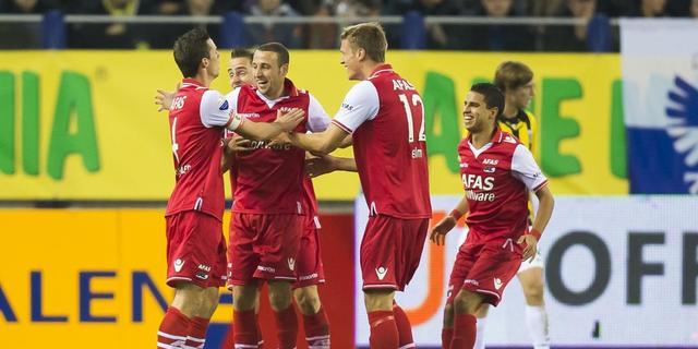 AZ bezorgt Vitesse eerste verlies
