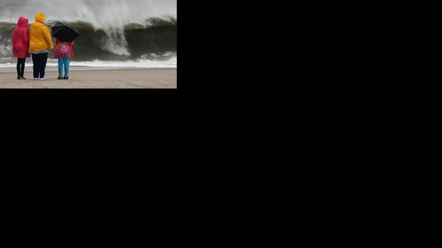 Zeer zware windstoten in noordwesten