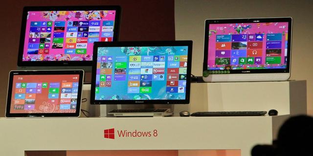 Japanse computerfabrikant wijt slechte resultaten aan Windows 8