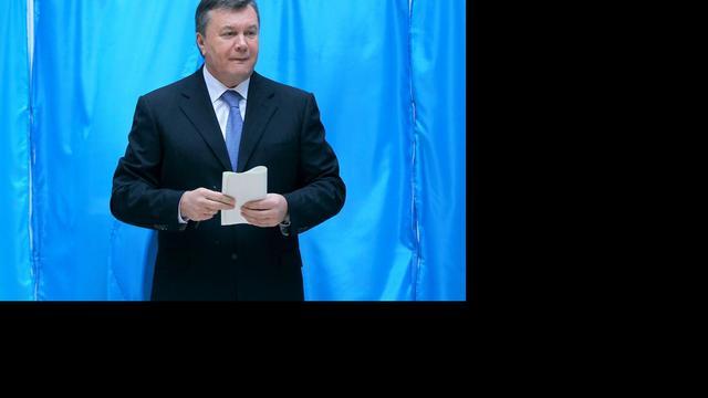 Partij Oekraïnse president lijkt meerderheid te houden