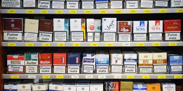 'Winkeliers verkochten 13 procent minder sigaretten'