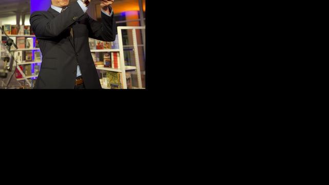 AKO Literatuurprijs voor Peter Terrin