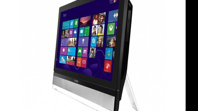 MSI presenteert 27-inch all-in-ones met Windows 8