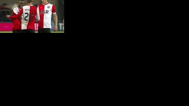 Feyenoord boekt ruime zege in derby