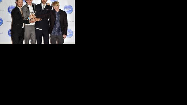 Britse band Alt-J wint Mercury Prize