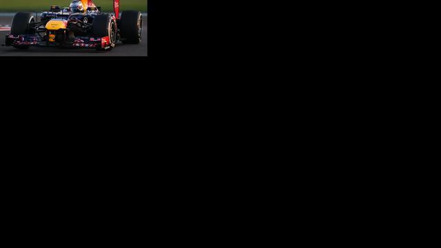 Vettel moet achteraan starten in Abu Dhabi