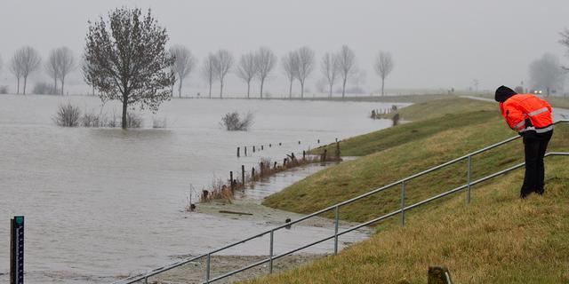 'Nederlanders onderschatten gevaar overstroming'