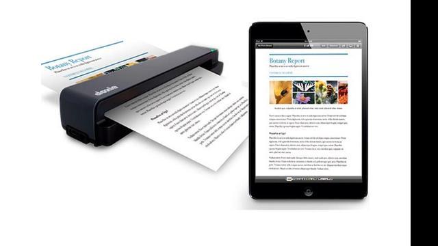 Bedrijf presenteert portable scanner voor pc's en iOS