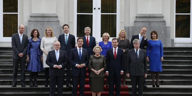 Overzicht: Ministers en staatssecretarissen Rutte II