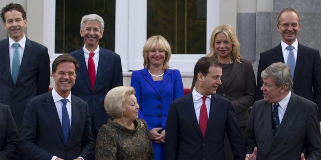 Kabinet Rutte II op bordes