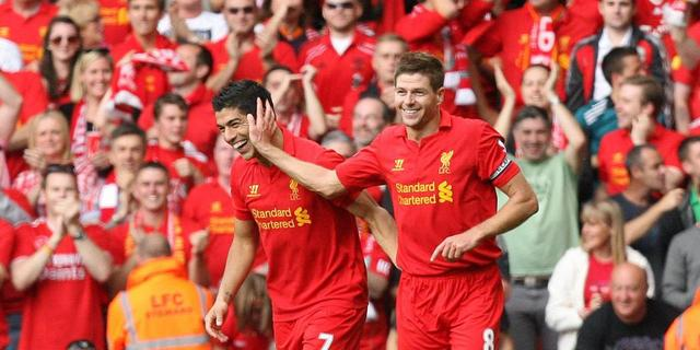 Gerrard: 'Suarez is een tovenaar'