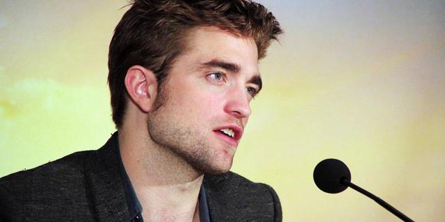 Robert Pattinson is vampieren-look beu