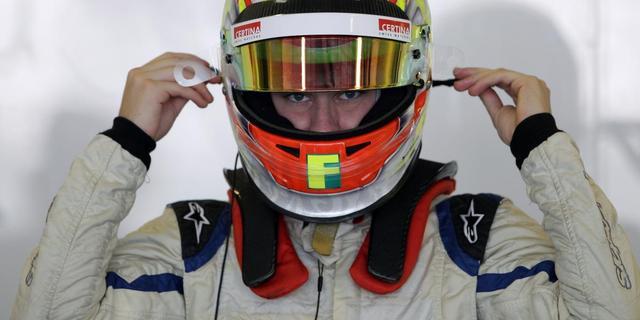 Knappe zege Frijns in GP2-race Barcelona