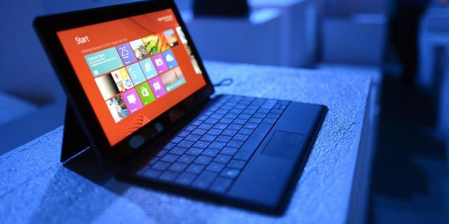 Microsoft verliest 900 miljoen op Surface RT
