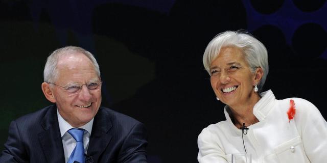 'Eurozone in veilige haven'