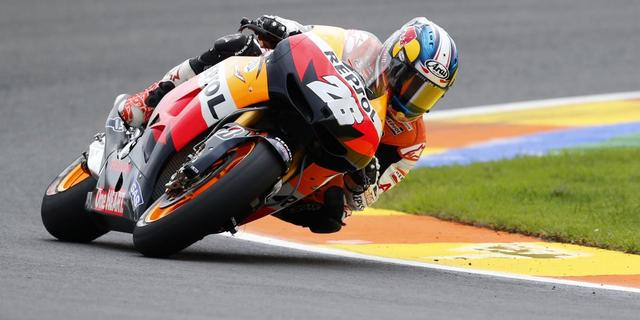 Pedrosa wint in de regen op Le Mans