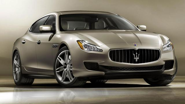 Maserati komt met lange Quattroporte