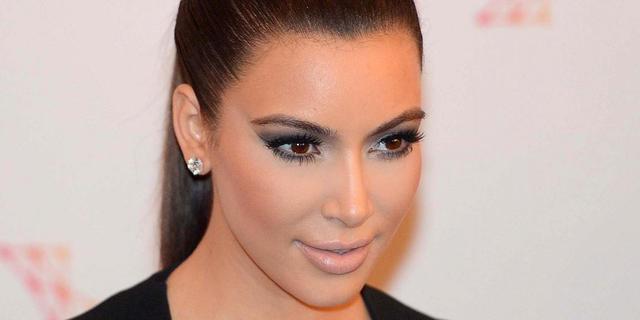 Kim Kardashian herenigd met auto