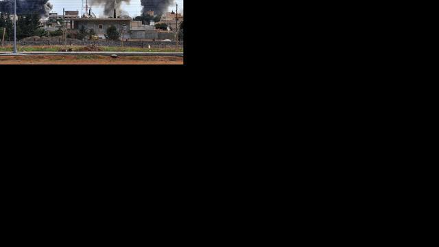 Hevige gevechten om Syrische vliegvelden