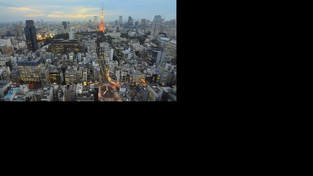 Tokio voelt aardbeving