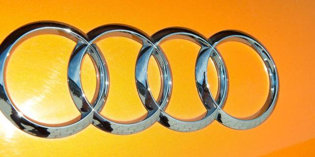 Foto's Audi A3 sedan gelekt